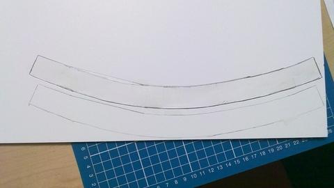 5mm厚のスチレンボード